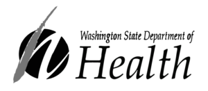 Logo Washington State Deparment of Healt